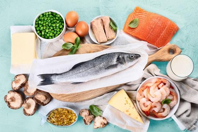 Một số thực phẩm chứa hàm lượng vitamin D cao