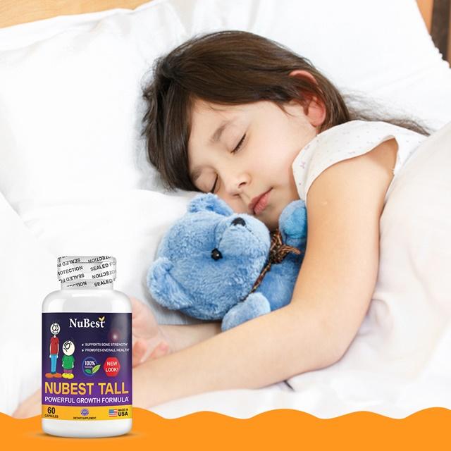 NuBest Tall hỗ trợ tăng chiều cao, chăm sóc giấc ngủ, tăng cường trí não
