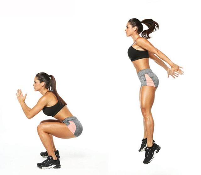 Bật nhảy tại chỗ giúp tăng chiều cao