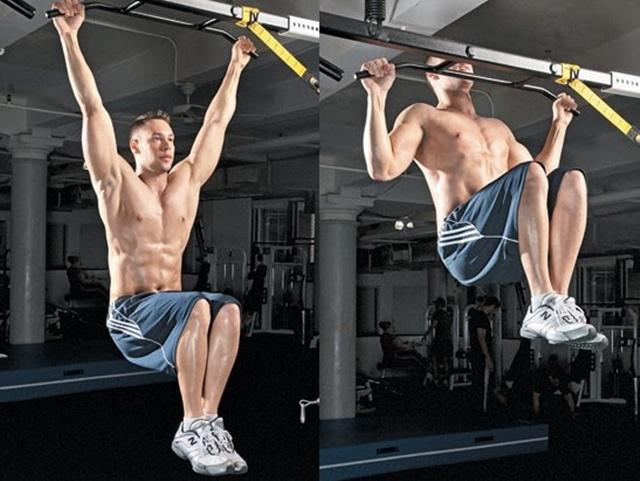 Đu xà đơn giúp kéo giãn cột sống, tác động tích cực đến chiều cao